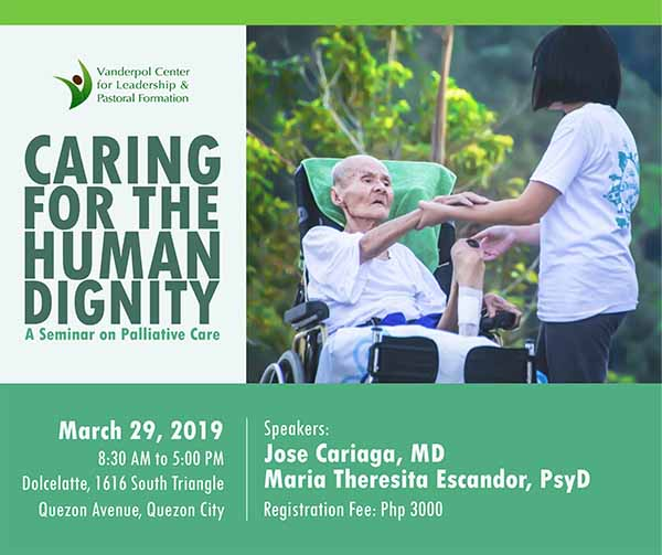Caring for the Human Dignity